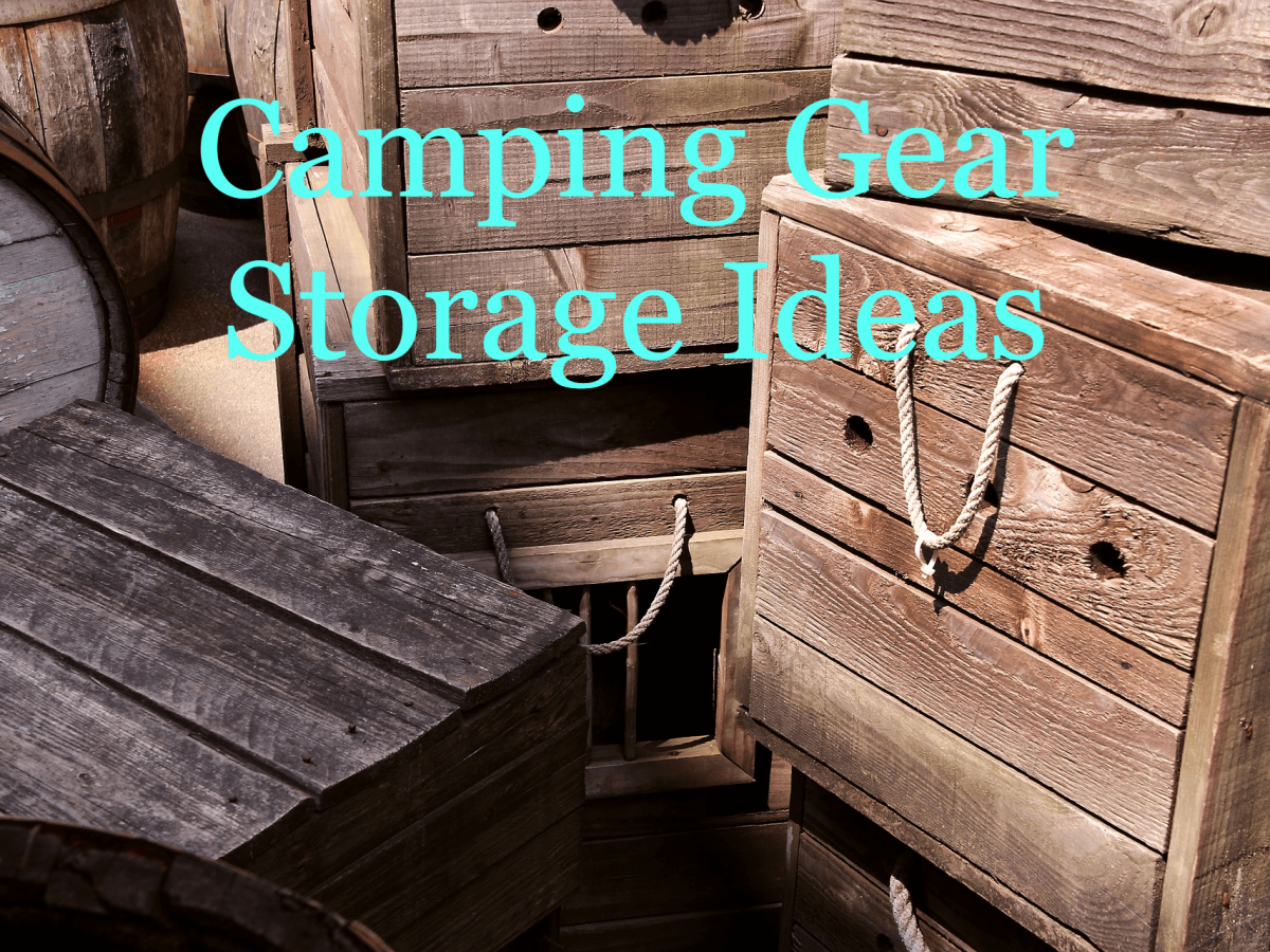 Tips For Storing Camping Gear Camping Gear Storage Ideas
